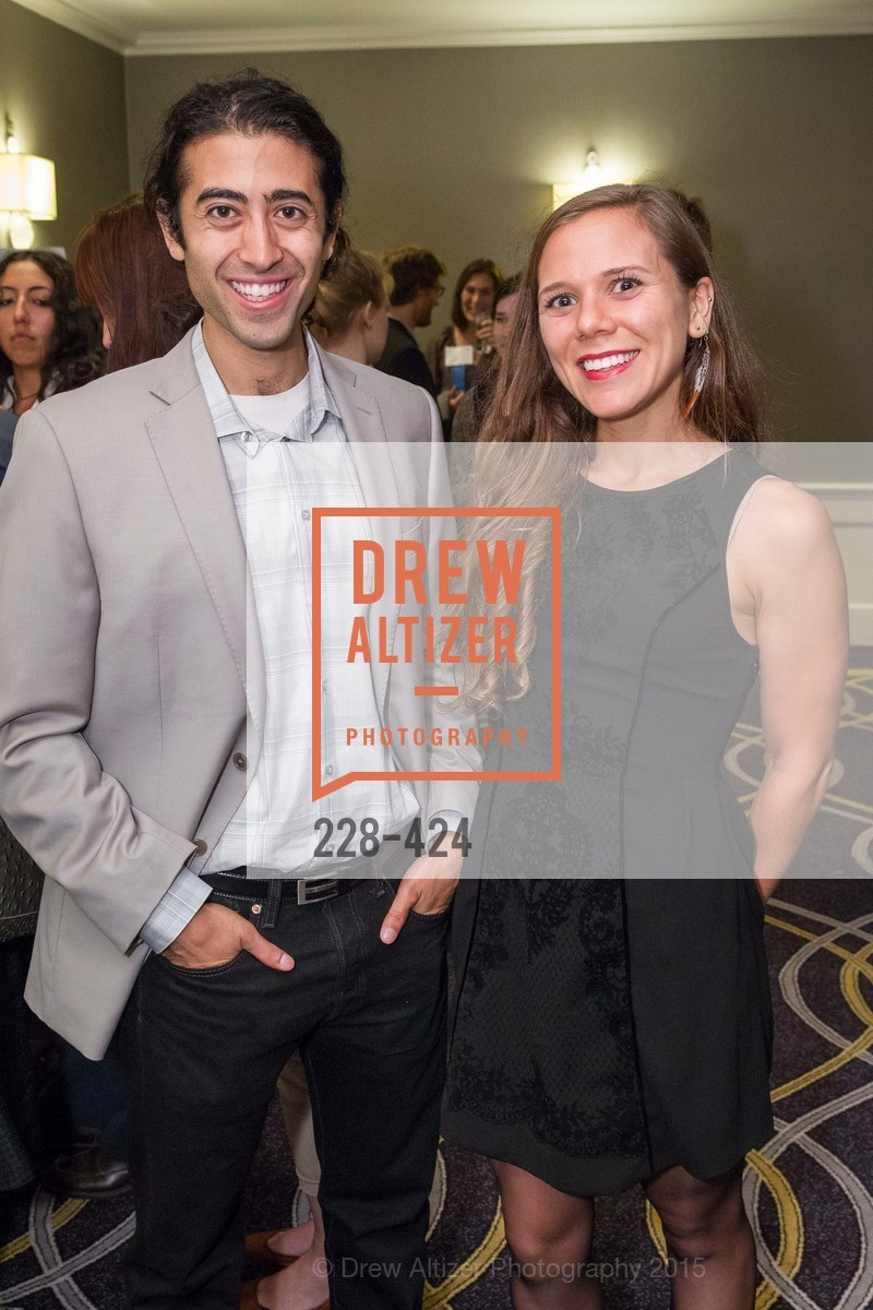 Shervin Sahba, Anna Schindler, 2015 ARCS Foundation Scholar Awards Luncheon, The Fairmont San Francisco. 950 Mason St, October 29th, 2015,Drew Altizer, Drew Altizer Photography, full-service event agency, private events, San Francisco photographer, photographer California