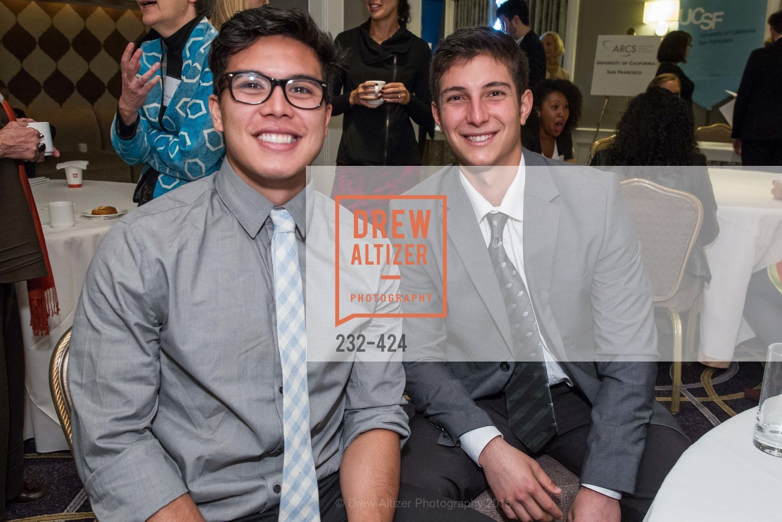 Jordan Maoutner, Miklos Zoller, 2015 ARCS Foundation Scholar Awards Luncheon, The Fairmont San Francisco. 950 Mason St, October 29th, 2015,Drew Altizer, Drew Altizer Photography, full-service agency, private events, San Francisco photographer, photographer california