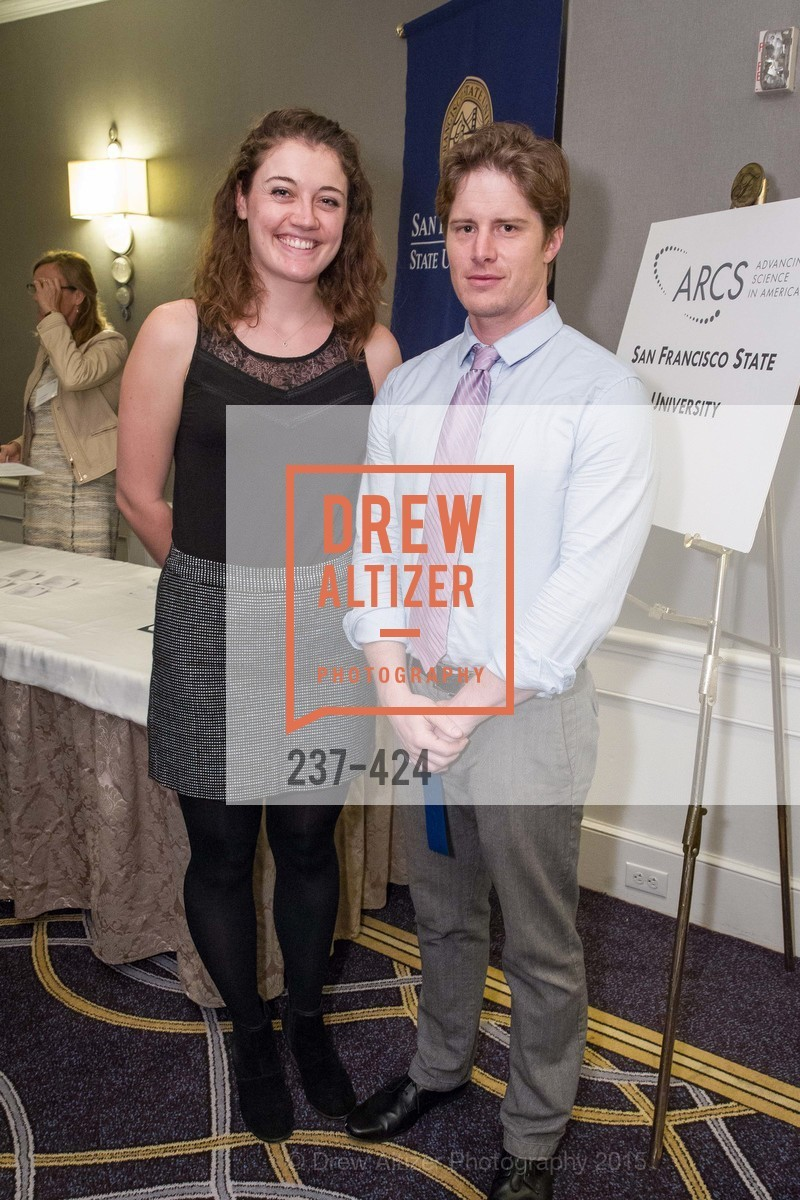Elle Roberson, Andrew Norman, 2015 ARCS Foundation Scholar Awards Luncheon, The Fairmont San Francisco. 950 Mason St, October 29th, 2015,Drew Altizer, Drew Altizer Photography, full-service agency, private events, San Francisco photographer, photographer california