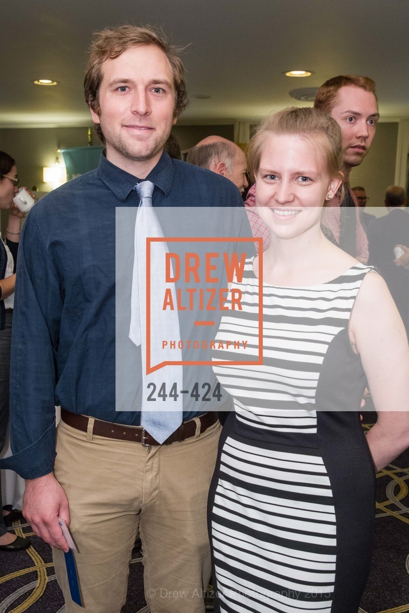 Lucas Smith, Adrienne Stormo, 2015 ARCS Foundation Scholar Awards Luncheon, The Fairmont San Francisco. 950 Mason St, October 29th, 2015,Drew Altizer, Drew Altizer Photography, full-service agency, private events, San Francisco photographer, photographer california