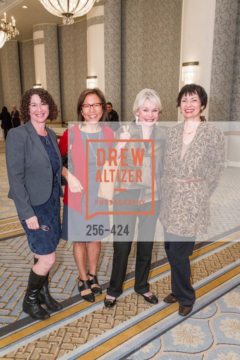 Liz Moress, Cora Yang, Marianne Mason, Sharon Page-Medrich, 2015 ARCS Foundation Scholar Awards Luncheon, The Fairmont San Francisco. 950 Mason St, October 29th, 2015