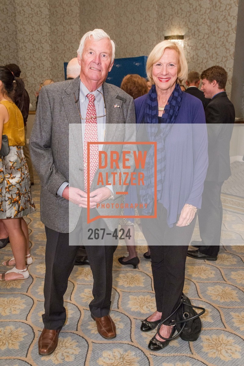 William Hynes, Bobbie Buich, 2015 ARCS Foundation Scholar Awards Luncheon, The Fairmont San Francisco. 950 Mason St, October 29th, 2015,Drew Altizer, Drew Altizer Photography, full-service agency, private events, San Francisco photographer, photographer california
