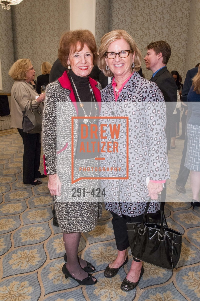 Peggy Huntington, Sarah Bryan Maroney, 2015 ARCS Foundation Scholar Awards Luncheon, The Fairmont San Francisco. 950 Mason St, October 29th, 2015,Drew Altizer, Drew Altizer Photography, full-service agency, private events, San Francisco photographer, photographer california