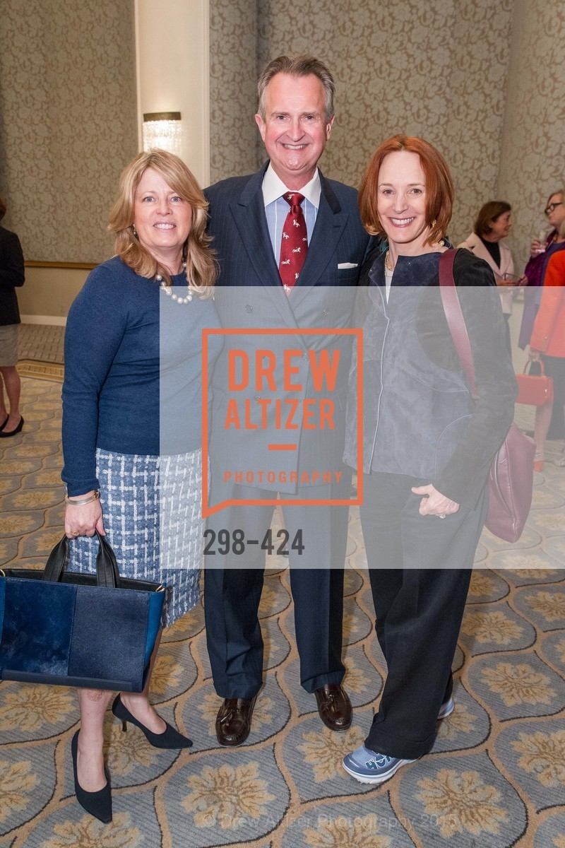 Debbie Wreyford, Ken Winans, Julie Newhall, 2015 ARCS Foundation Scholar Awards Luncheon, The Fairmont San Francisco. 950 Mason St, October 29th, 2015,Drew Altizer, Drew Altizer Photography, full-service agency, private events, San Francisco photographer, photographer california