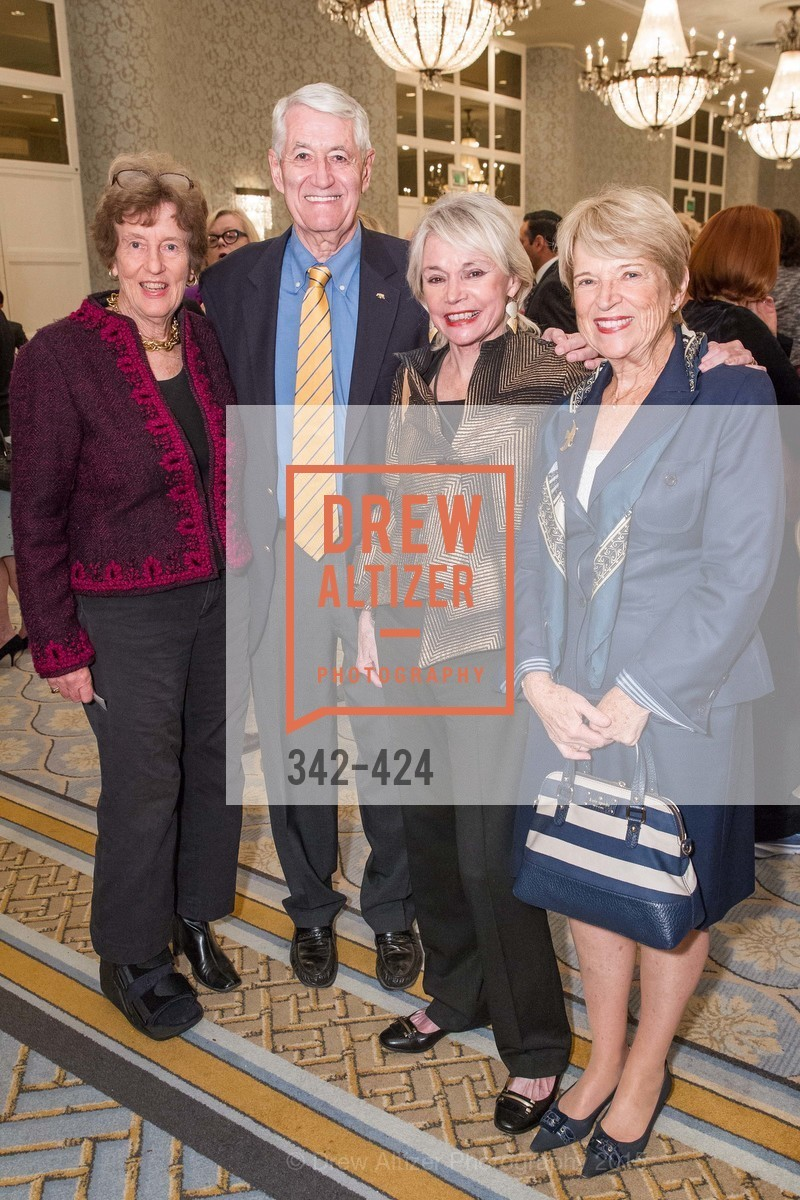 Bailey Meyer, Robert Birgeneau, Marianne Mason, Mary Catherine Birgeneau, 2015 ARCS Foundation Scholar Awards Luncheon, The Fairmont San Francisco. 950 Mason St, October 29th, 2015,Drew Altizer, Drew Altizer Photography, full-service agency, private events, San Francisco photographer, photographer california