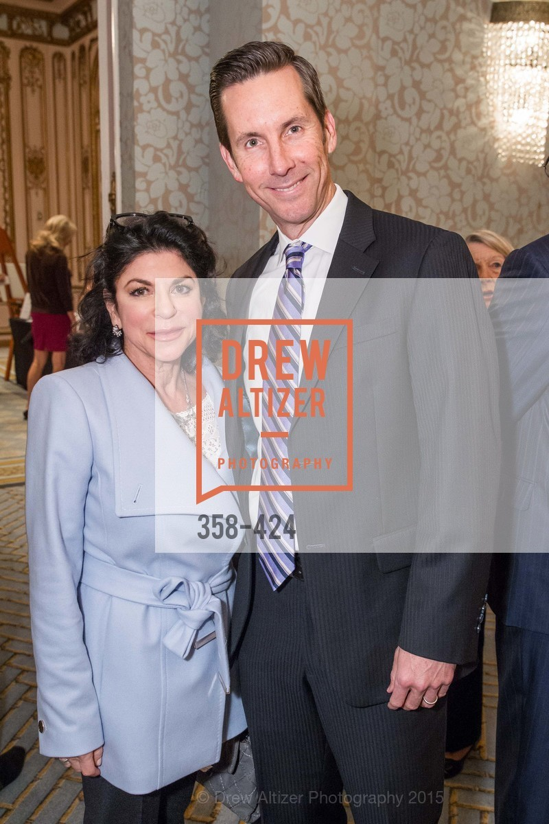Deborah Mann, Keith McLane, 2015 ARCS Foundation Scholar Awards Luncheon, The Fairmont San Francisco. 950 Mason St, October 29th, 2015,Drew Altizer, Drew Altizer Photography, full-service agency, private events, San Francisco photographer, photographer california