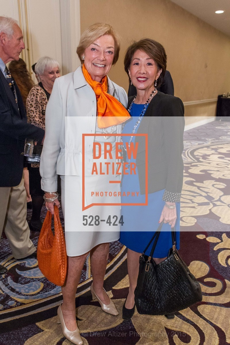 Gretchen De Baubigny, Jan Yanehiro, 2015 ARCS Foundation Scholar Awards Luncheon, The Fairmont San Francisco. 950 Mason St, October 29th, 2015,Drew Altizer, Drew Altizer Photography, full-service agency, private events, San Francisco photographer, photographer california
