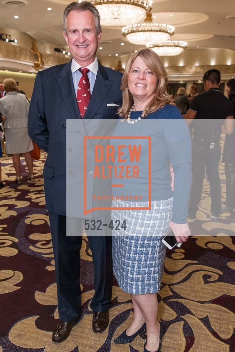 Ken Winans, Debbie Wreyford, 2015 ARCS Foundation Scholar Awards Luncheon, The Fairmont San Francisco. 950 Mason St, October 29th, 2015,Drew Altizer, Drew Altizer Photography, full-service agency, private events, San Francisco photographer, photographer california