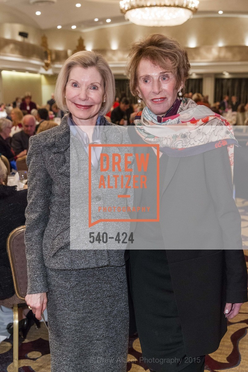 Barbara Traisman, Vera Carpeneti, 2015 ARCS Foundation Scholar Awards Luncheon, The Fairmont San Francisco. 950 Mason St, October 29th, 2015,Drew Altizer, Drew Altizer Photography, full-service agency, private events, San Francisco photographer, photographer california