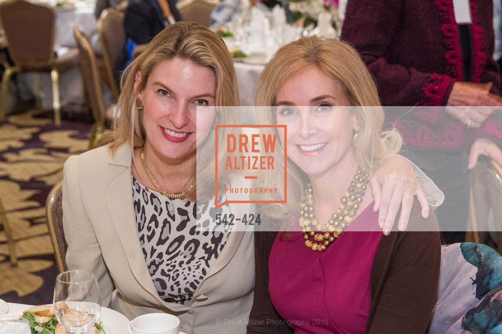 Mindy Henderson, Melanie Hoefer, 2015 ARCS Foundation Scholar Awards Luncheon, The Fairmont San Francisco. 950 Mason St, October 29th, 2015,Drew Altizer, Drew Altizer Photography, full-service agency, private events, San Francisco photographer, photographer california