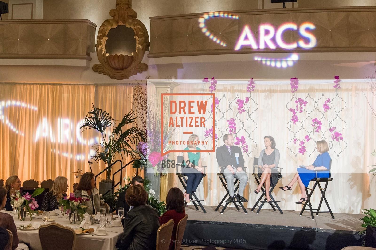 Kathleen Sokolowsky, Brad Hobson, Elizabeth Devitt, Susan Taylor, 2015 ARCS Foundation Scholar Awards Luncheon, The Fairmont San Francisco. 950 Mason St, October 29th, 2015
