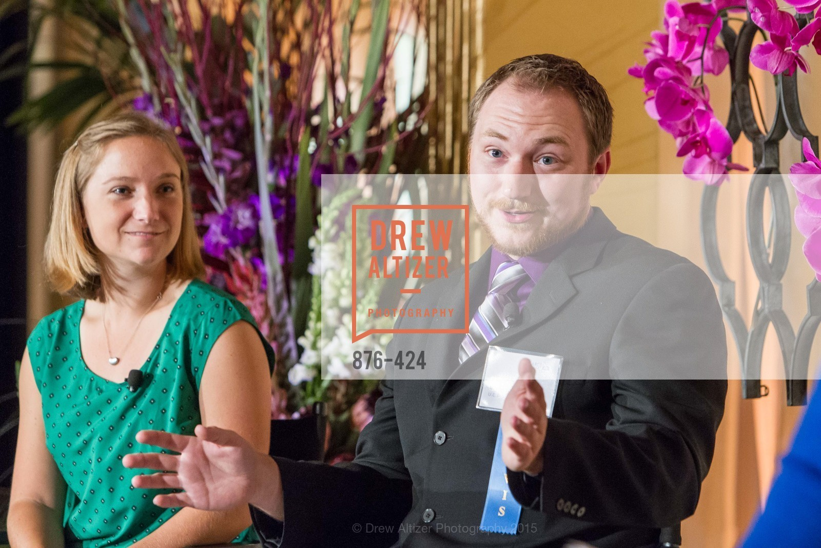 Kathleen Sokolowsky, Brad Hobson, 2015 ARCS Foundation Scholar Awards Luncheon, The Fairmont San Francisco. 950 Mason St, October 29th, 2015,Drew Altizer, Drew Altizer Photography, full-service agency, private events, San Francisco photographer, photographer california