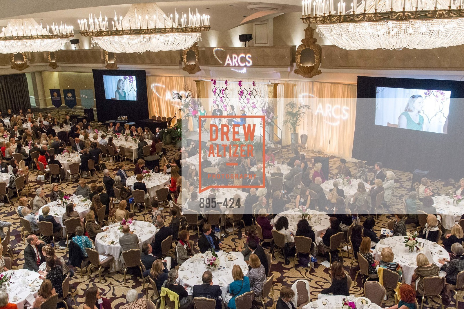 Atmosphere, 2015 ARCS Foundation Scholar Awards Luncheon, The Fairmont San Francisco. 950 Mason St, October 29th, 2015