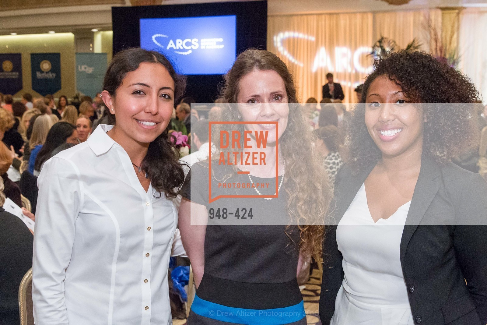 Claudia Corona, Anne-Marie Fowler, Willie Mae Reese, 2015 ARCS Foundation Scholar Awards Luncheon, The Fairmont San Francisco. 950 Mason St, October 29th, 2015,Drew Altizer, Drew Altizer Photography, full-service agency, private events, San Francisco photographer, photographer california