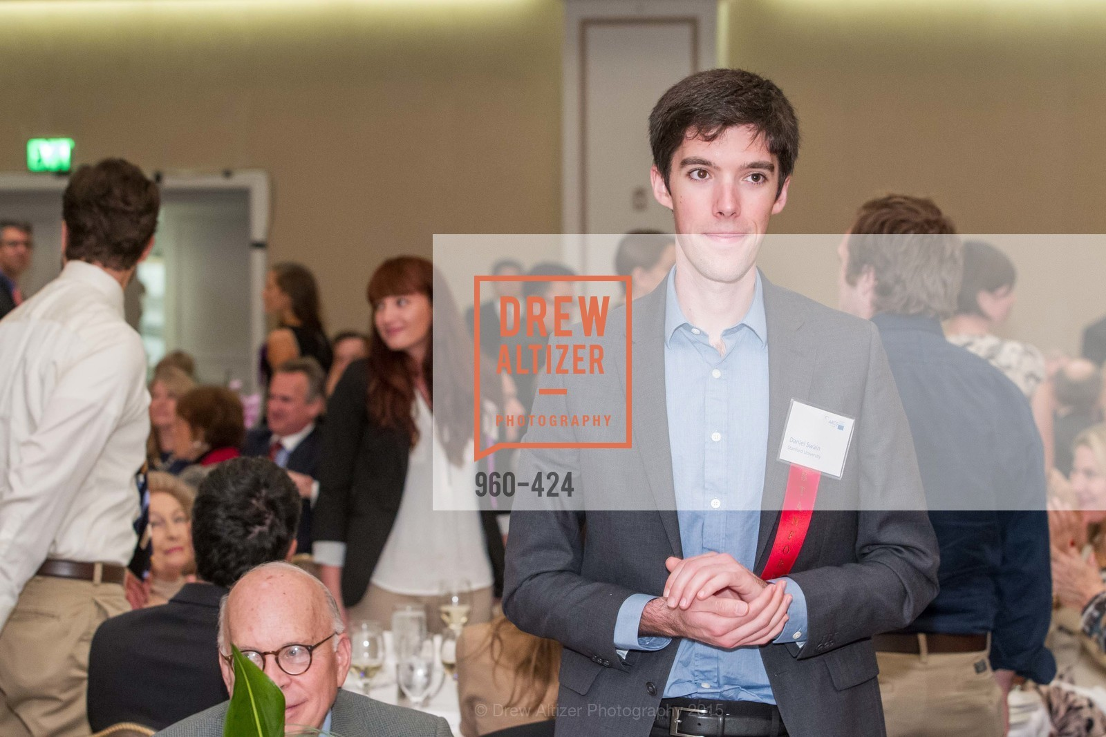 Daniel Swain, 2015 ARCS Foundation Scholar Awards Luncheon, The Fairmont San Francisco. 950 Mason St, October 29th, 2015,Drew Altizer, Drew Altizer Photography, full-service agency, private events, San Francisco photographer, photographer california