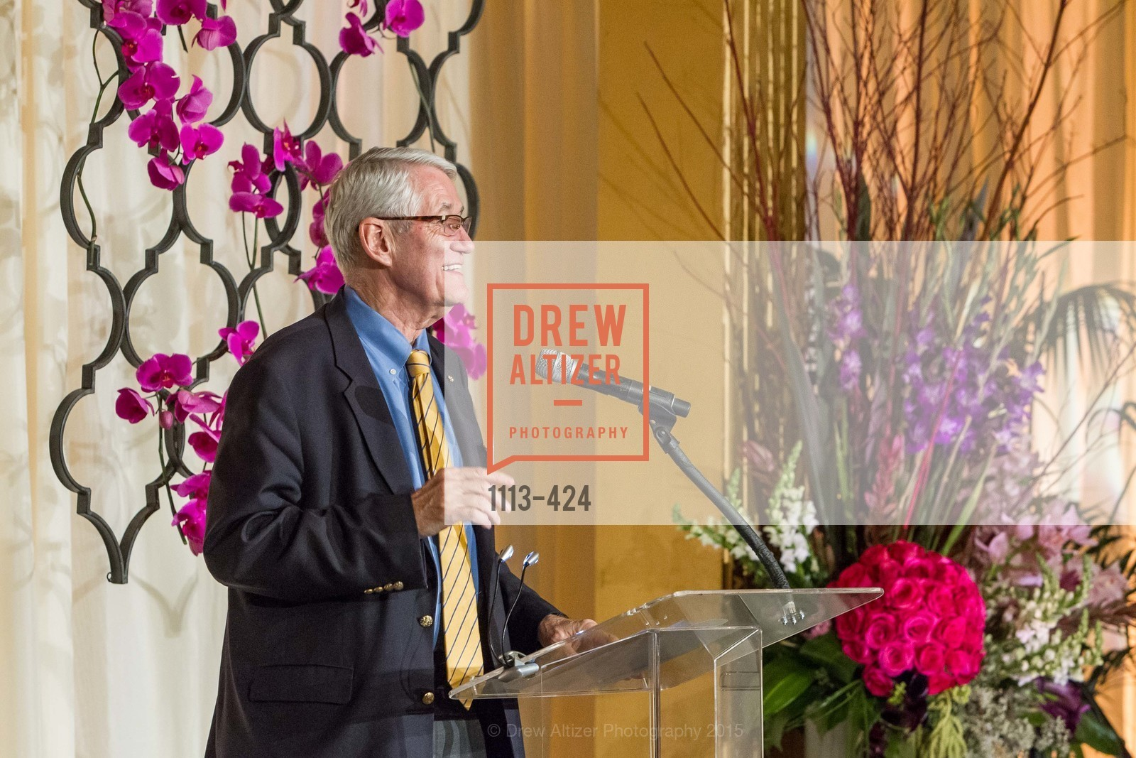 Robert Birgeneau, 2015 ARCS Foundation Scholar Awards Luncheon, The Fairmont San Francisco. 950 Mason St, October 29th, 2015,Drew Altizer, Drew Altizer Photography, full-service agency, private events, San Francisco photographer, photographer california