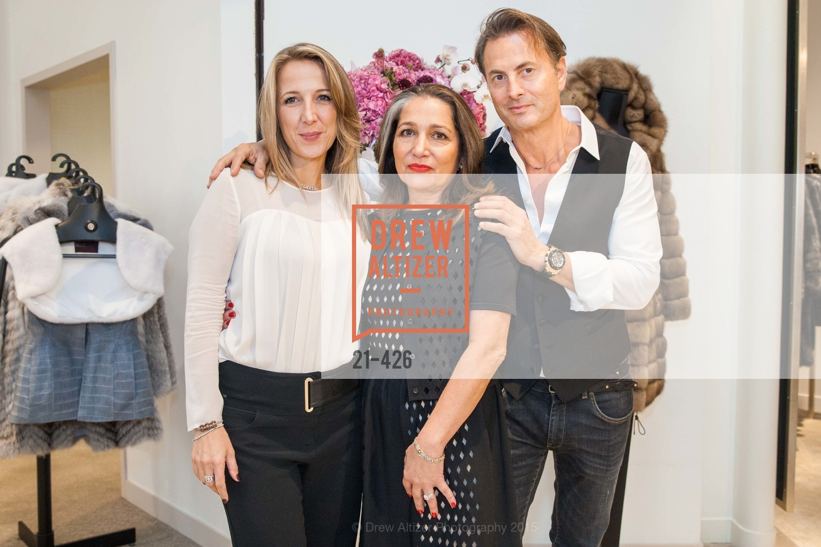 Ilaria Fabbri, Josephine Kathan, Brunello Rindi, Rindi at Saks Fur Salon, Saks Fifth Avenue, Fur Salon, October 29th, 2015,Drew Altizer, Drew Altizer Photography, full-service agency, private events, San Francisco photographer, photographer california