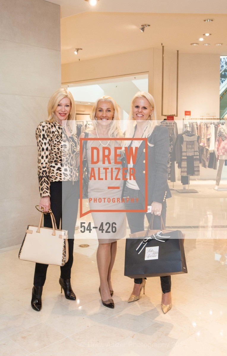 Pamala Deikel, Zoe Sexton, Katja O'Brien, Rindi at Saks Fur Salon, Saks Fifth Avenue, Fur Salon, October 29th, 2015