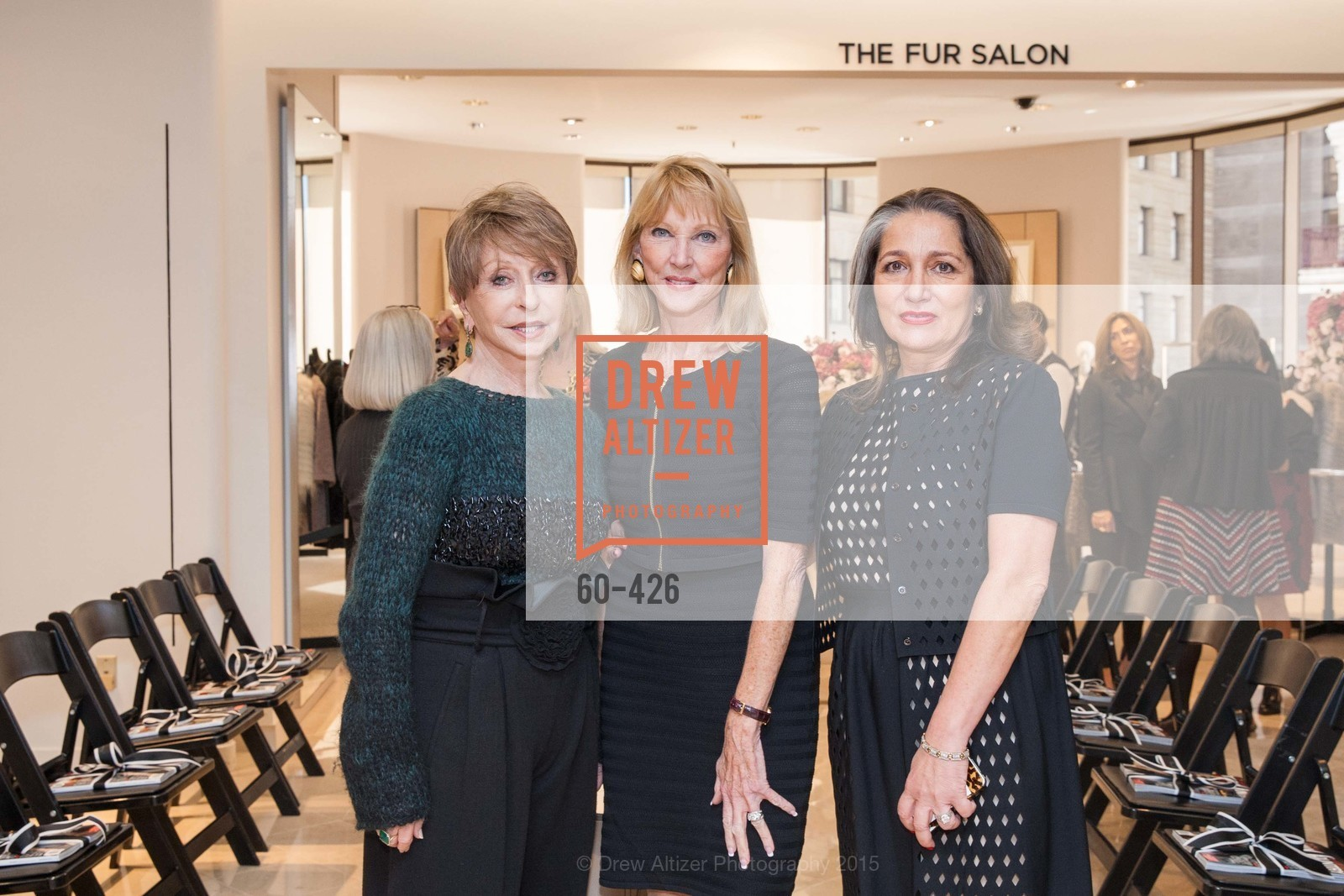 Roberta Sherman, Mary Lou Maier, Josephine Kathan, Rindi at Saks Fur Salon, Saks Fifth Avenue, Fur Salon, October 29th, 2015,Drew Altizer, Drew Altizer Photography, full-service agency, private events, San Francisco photographer, photographer california