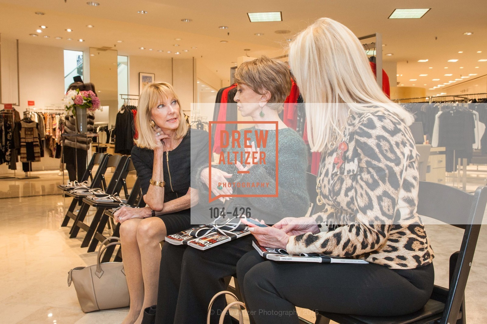 Mary Lou Maier, Roberta Sherman, Rindi at Saks Fur Salon, Saks Fifth Avenue, Fur Salon, October 29th, 2015,Drew Altizer, Drew Altizer Photography, full-service agency, private events, San Francisco photographer, photographer california