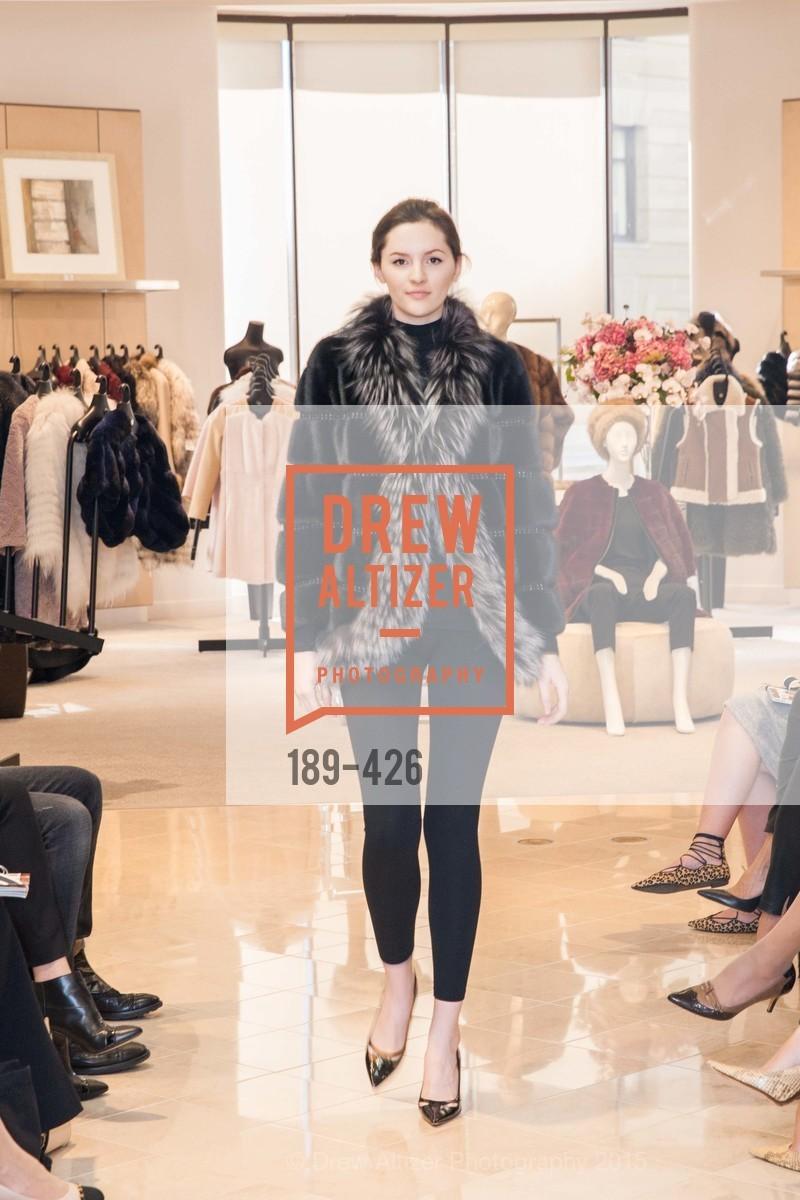 Fashion Show, Rindi at Saks Fur Salon, Saks Fifth Avenue, Fur Salon, October 29th, 2015,Drew Altizer, Drew Altizer Photography, full-service event agency, private events, San Francisco photographer, photographer California