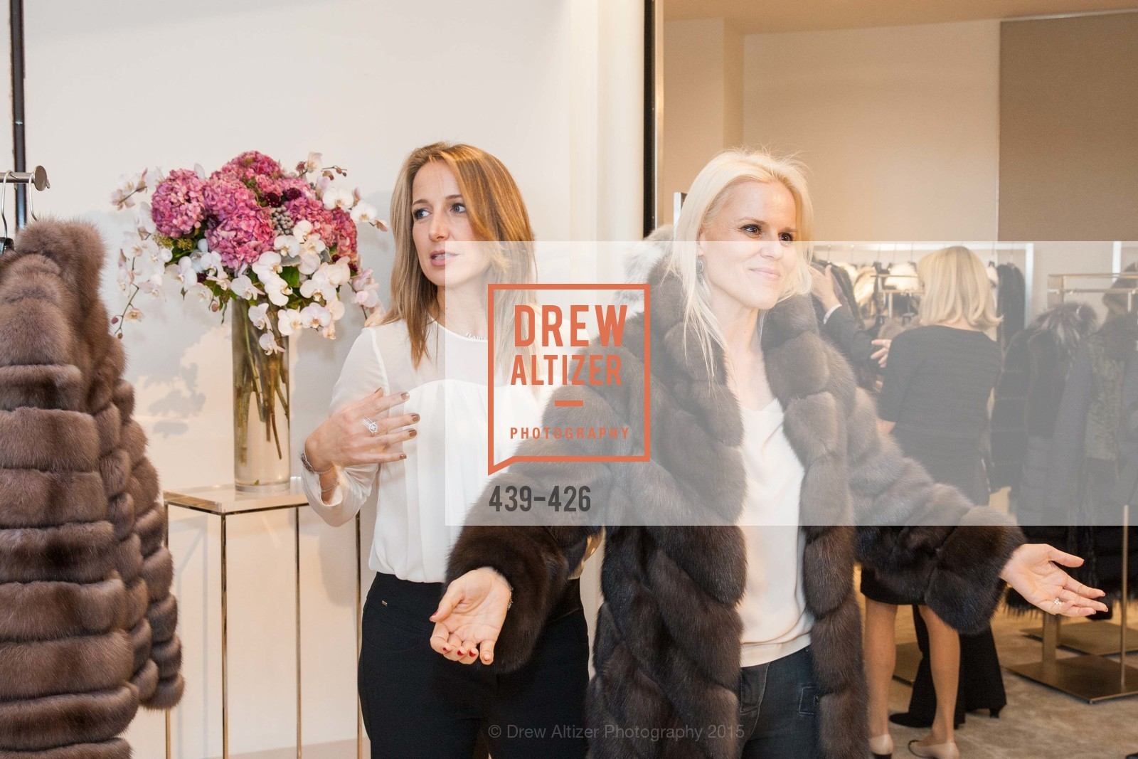 Ilaria Fabbri, Katja O'Brien, Rindi at Saks Fur Salon, Saks Fifth Avenue, Fur Salon, October 29th, 2015,Drew Altizer, Drew Altizer Photography, full-service event agency, private events, San Francisco photographer, photographer California