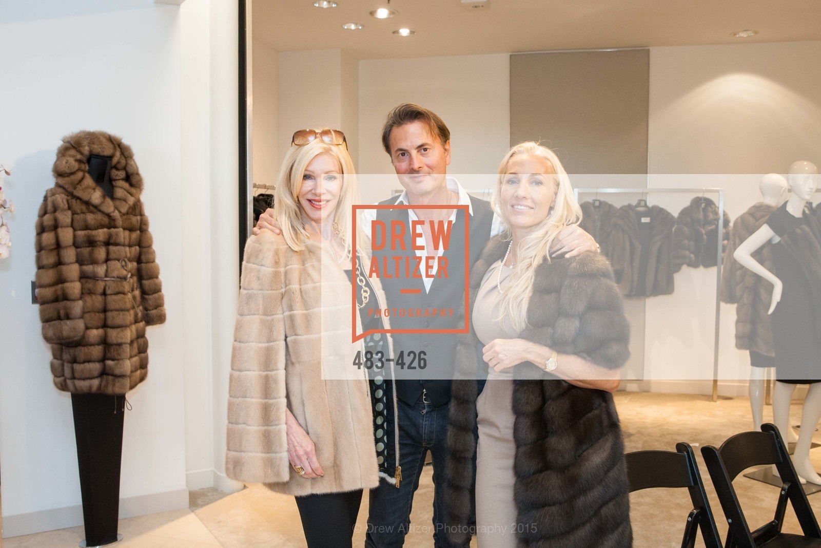 Pamala Deikel, Brunello Rindi, Zoe Sexton, Rindi at Saks Fur Salon, Saks Fifth Avenue, Fur Salon, October 29th, 2015,Drew Altizer, Drew Altizer Photography, full-service agency, private events, San Francisco photographer, photographer california