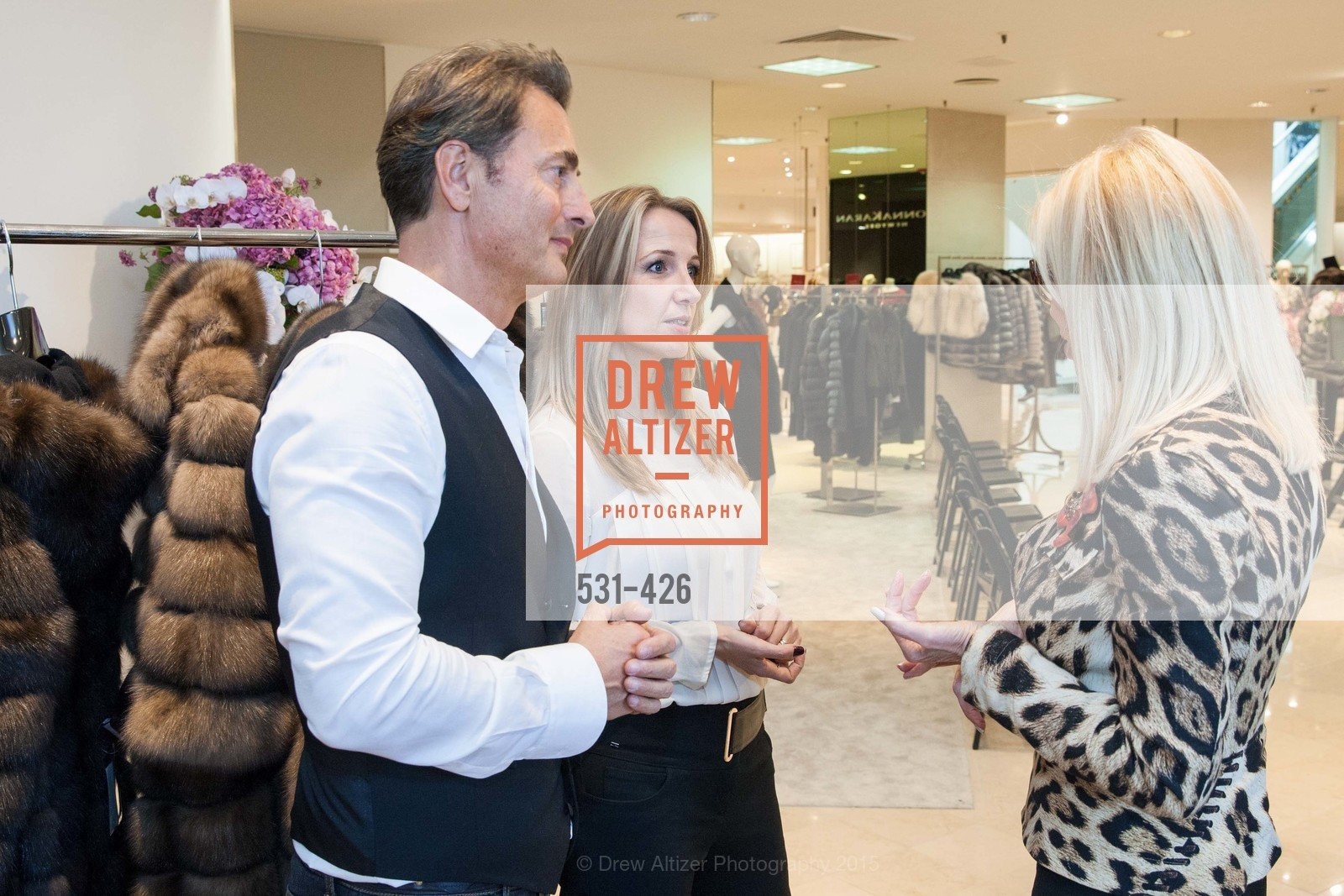 Brunello Rindi, Ilaria Fabbri, Rindi at Saks Fur Salon, Saks Fifth Avenue, Fur Salon, October 29th, 2015,Drew Altizer, Drew Altizer Photography, full-service event agency, private events, San Francisco photographer, photographer California