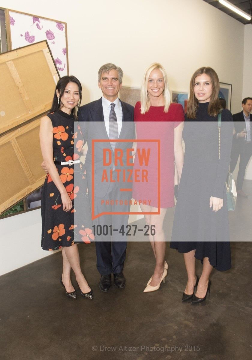 Wendy Murdoch, Tad Smith, Lucy Page, Dasha Zhukova, Artsy and Sotheby's Dinner at Fused, Fused, October 29th, 2015,Drew Altizer, Drew Altizer Photography, full-service agency, private events, San Francisco photographer, photographer california