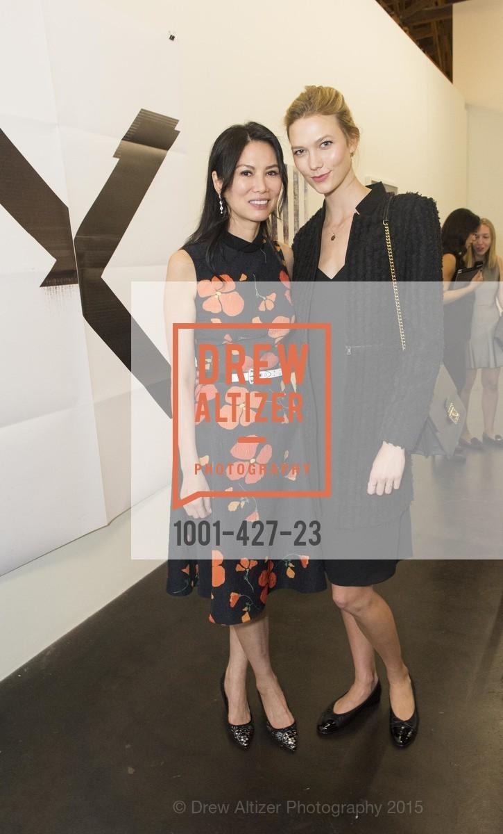 Wendi Murdoch, Karlie Kloss, Artsy and Sotheby's Dinner at Fused, Fused, October 29th, 2015