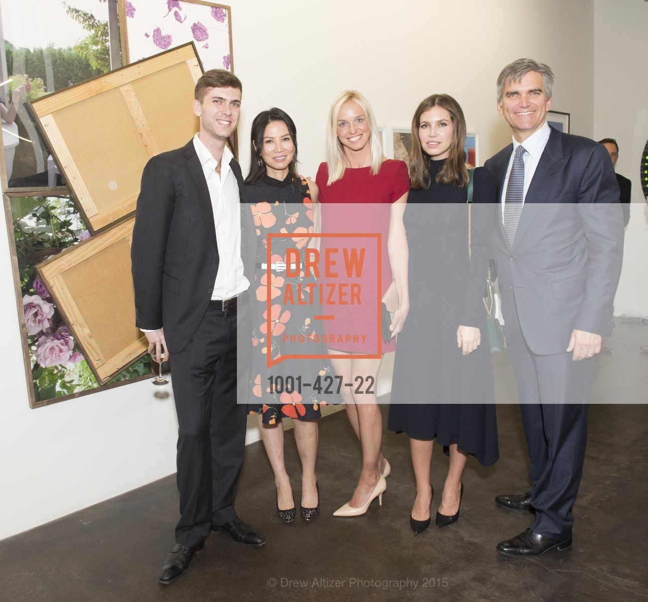 Carter Cleveland, Wendy Murdoch, Tad Smith, Lucy Page, Dasha Zhukova, Artsy and Sotheby's Dinner at Fused, Fused, October 29th, 2015,Drew Altizer, Drew Altizer Photography, full-service event agency, private events, San Francisco photographer, photographer California