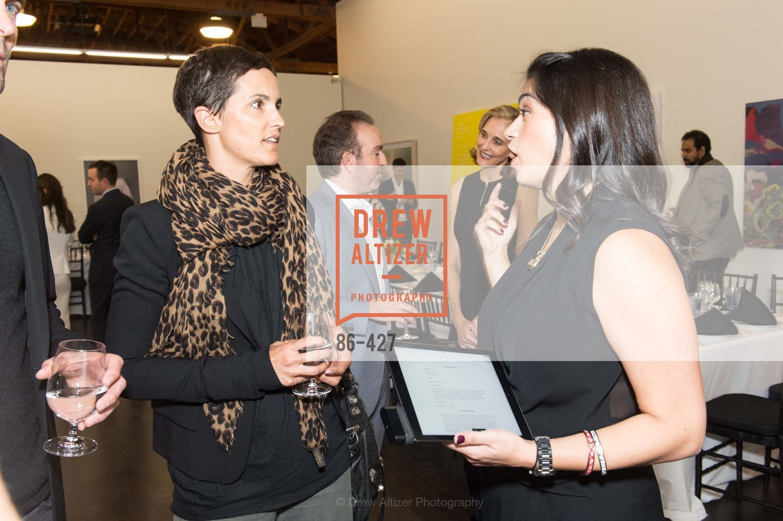 Andrea Williams, Rebecca Rathael, Artsy and Sotheby's Dinner at Fused, Fused, October 29th, 2015,Drew Altizer, Drew Altizer Photography, full-service agency, private events, San Francisco photographer, photographer california