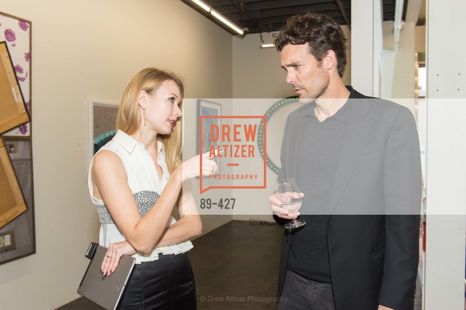Elena Soboleva, Phillip Schindler, Artsy and Sotheby's Dinner at Fused, Fused, October 29th, 2015,Drew Altizer, Drew Altizer Photography, full-service event agency, private events, San Francisco photographer, photographer California