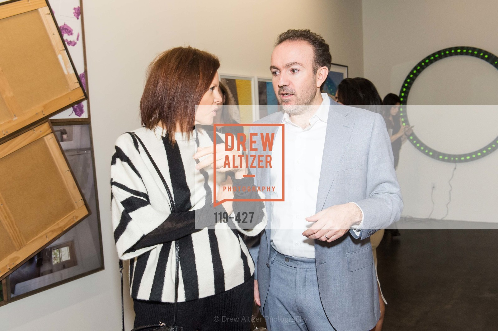 Svetlana Kuzmicheva-Uspenskaya, Sebastian Cwilich, Artsy and Sotheby's Dinner at Fused, Fused, October 29th, 2015,Drew Altizer, Drew Altizer Photography, full-service agency, private events, San Francisco photographer, photographer california
