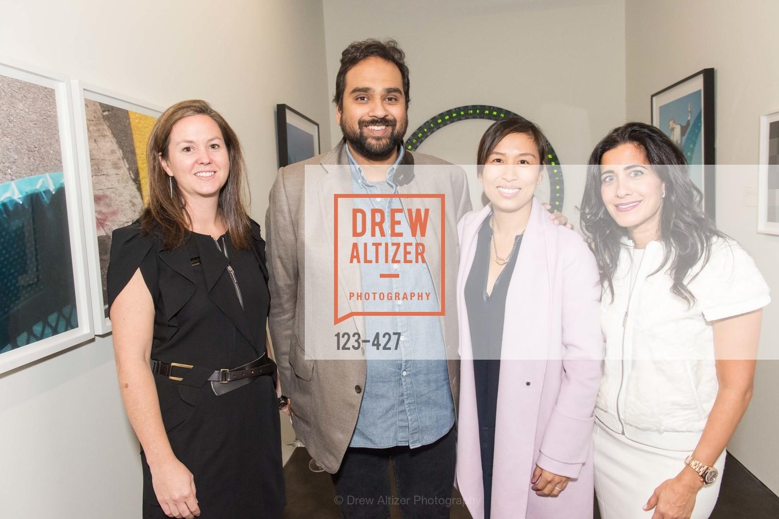 Sarah Shepard, Hosain Rahman, Brigette Lau, Aileen Agopian, Artsy and Sotheby's Dinner at Fused, Fused, October 29th, 2015
