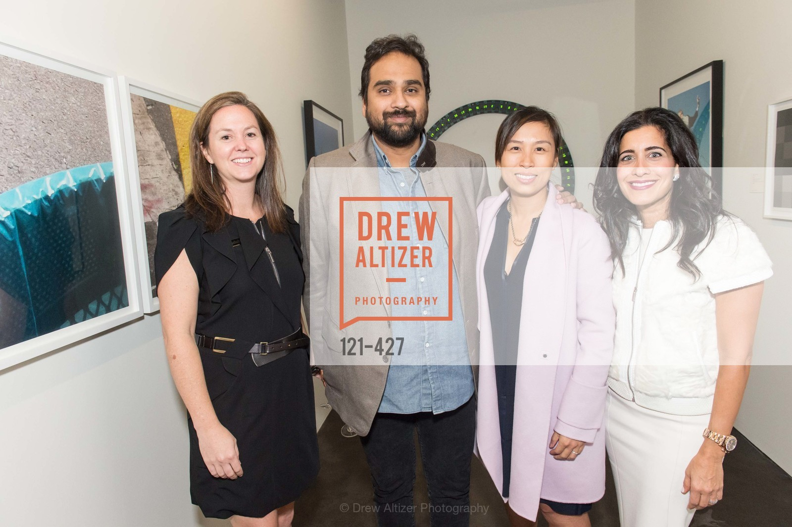 Sarah Shepard, Hosain Rahman, Brigette Lau, Aileen Agopian, Artsy and Sotheby's Dinner at Fused, Fused, October 29th, 2015,Drew Altizer, Drew Altizer Photography, full-service agency, private events, San Francisco photographer, photographer california