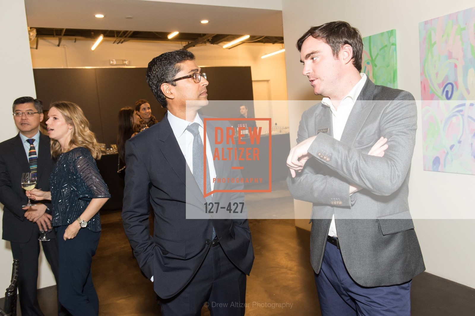 Ravin Agrawal, Charles Moffett, Artsy and Sotheby's Dinner at Fused, Fused, October 29th, 2015,Drew Altizer, Drew Altizer Photography, full-service agency, private events, San Francisco photographer, photographer california