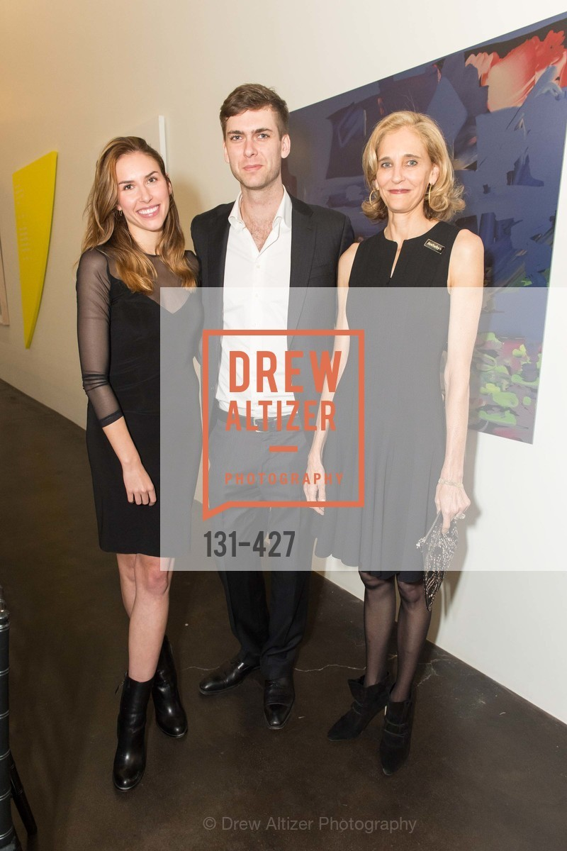 Felicity Conrad, Carter Cleveland, Jennifer Biederbeck, Artsy and Sotheby's Dinner at Fused, Fused, October 29th, 2015,Drew Altizer, Drew Altizer Photography, full-service agency, private events, San Francisco photographer, photographer california