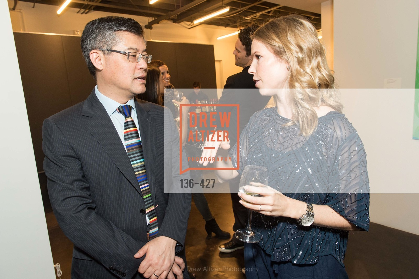 Jay Xu, Courtnry Kremers, Artsy and Sotheby's Dinner at Fused, Fused, October 29th, 2015,Drew Altizer, Drew Altizer Photography, full-service agency, private events, San Francisco photographer, photographer california