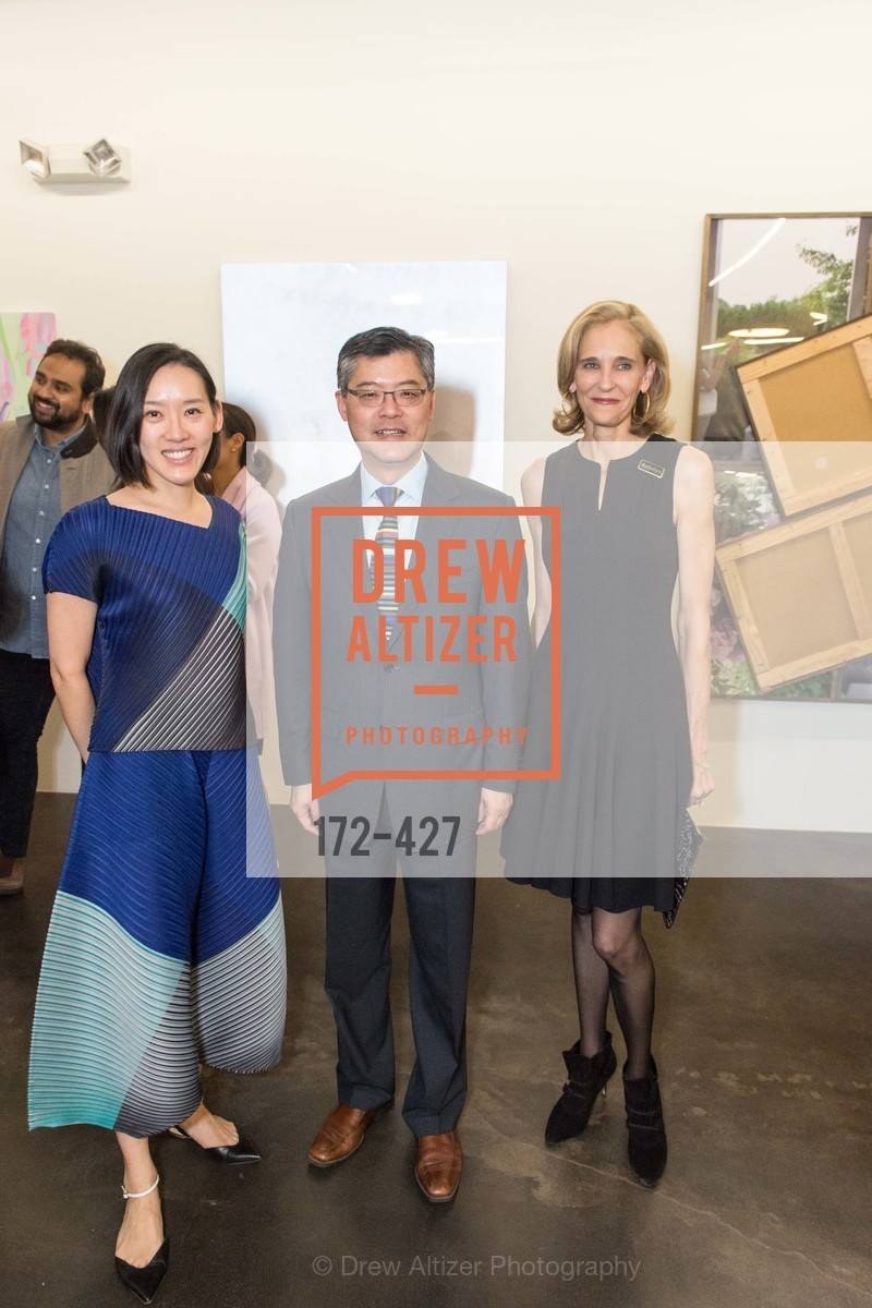 Christine Kuan, Jay Xu, Jennifer Biederbeck, Artsy and Sotheby's Dinner at Fused, Fused, October 29th, 2015,Drew Altizer, Drew Altizer Photography, full-service agency, private events, San Francisco photographer, photographer california