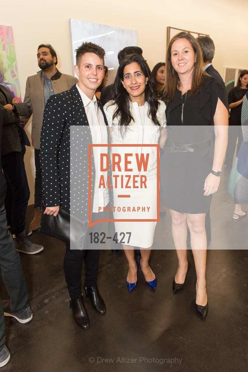 Jessica Silverman, Aileen Agopian, Sarah Shepard, Artsy and Sotheby's Dinner at Fused, Fused, October 29th, 2015,Drew Altizer, Drew Altizer Photography, full-service agency, private events, San Francisco photographer, photographer california