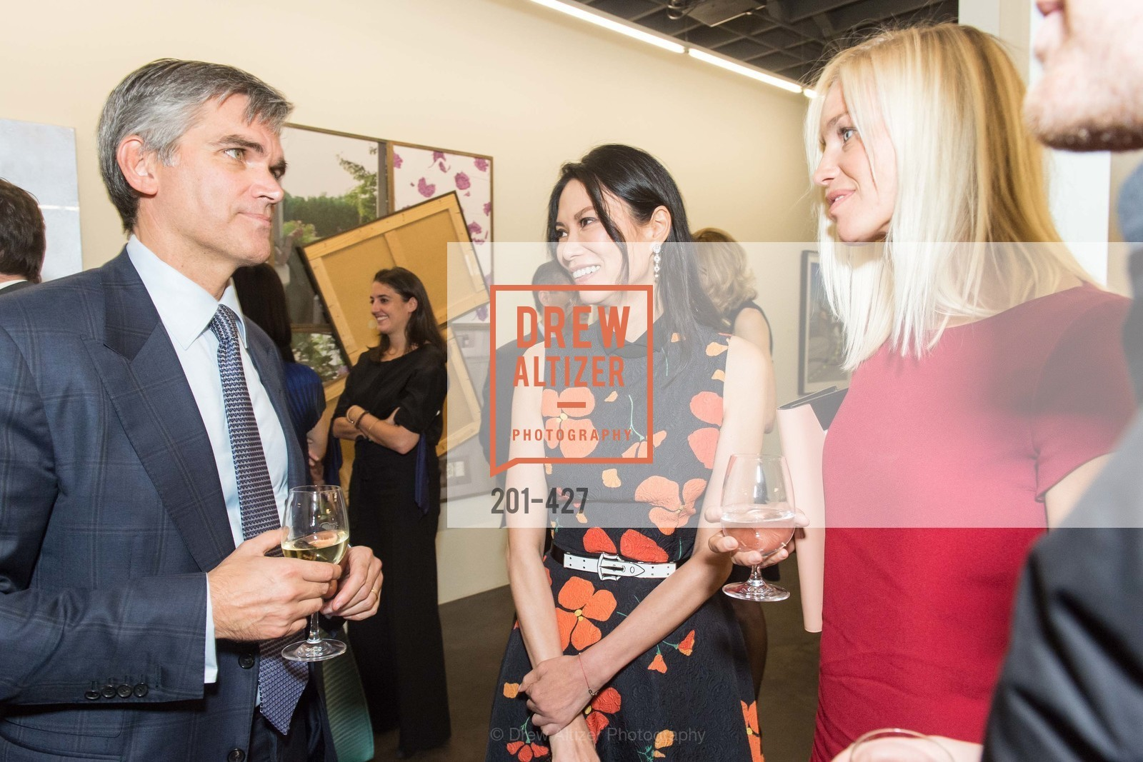 Tad Smith, Wendi Murdoch, Lucy Page, Artsy and Sotheby's Dinner at Fused, Fused, October 29th, 2015,Drew Altizer, Drew Altizer Photography, full-service agency, private events, San Francisco photographer, photographer california