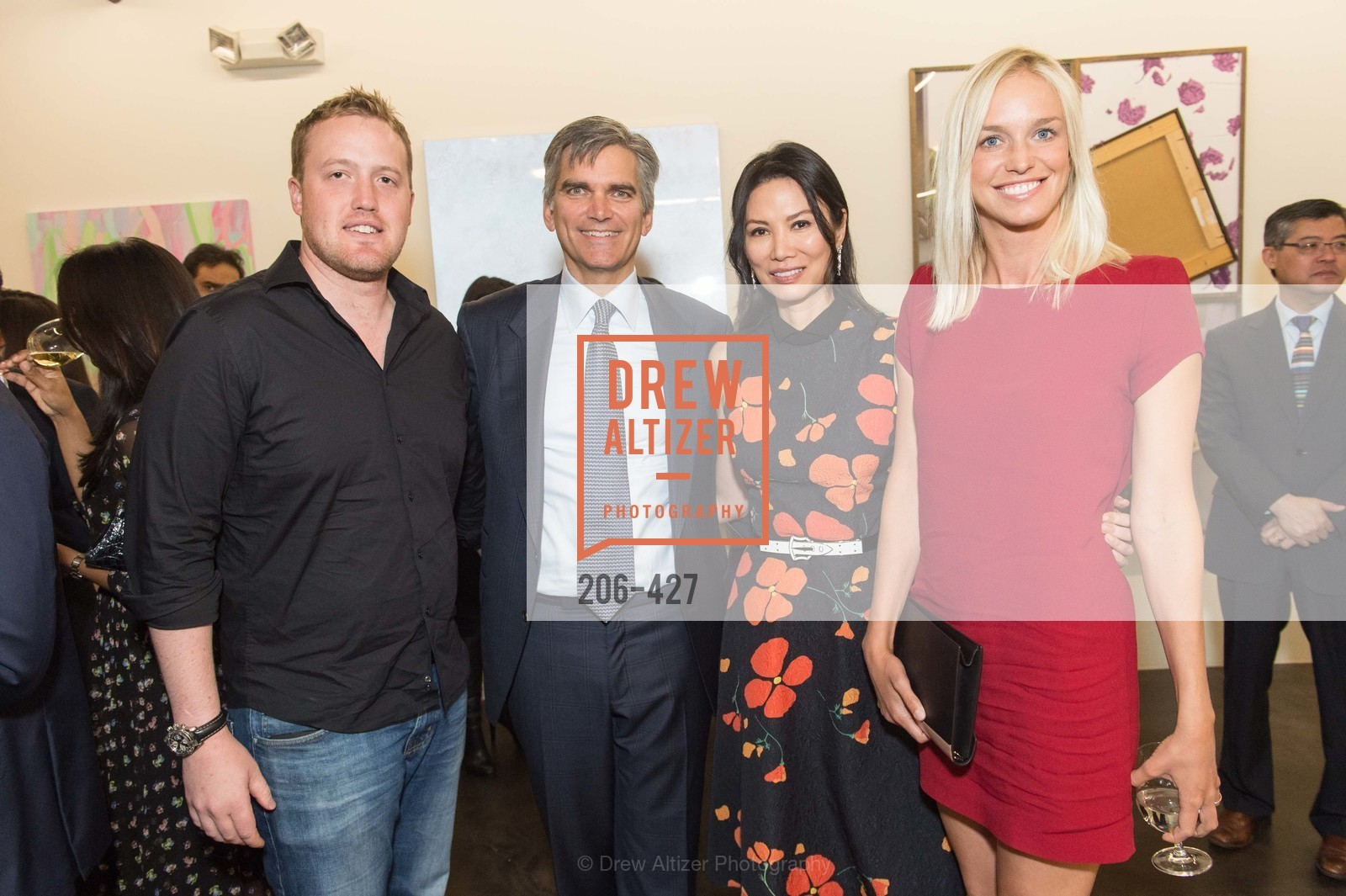 McLain Southworth, Tad Smith, Wendi Murdoch, Lucy Page, Artsy and Sotheby's Dinner at Fused, Fused, October 29th, 2015,Drew Altizer, Drew Altizer Photography, full-service event agency, private events, San Francisco photographer, photographer California