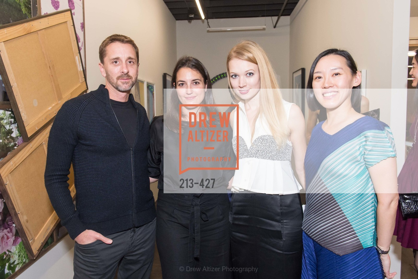 Sky Dayton, Michelle Finocchi, Elena Soboleva, Christine Kuan, Artsy and Sotheby's Dinner at Fused, Fused, October 29th, 2015,Drew Altizer, Drew Altizer Photography, full-service event agency, private events, San Francisco photographer, photographer California