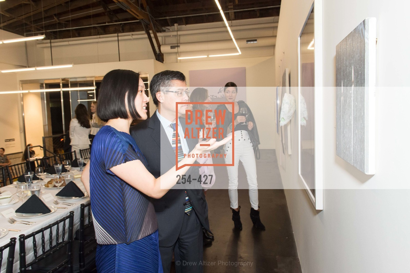 Christine Kuan, Jay Xu, Artsy and Sotheby's Dinner at Fused, Fused, October 29th, 2015,Drew Altizer, Drew Altizer Photography, full-service agency, private events, San Francisco photographer, photographer california