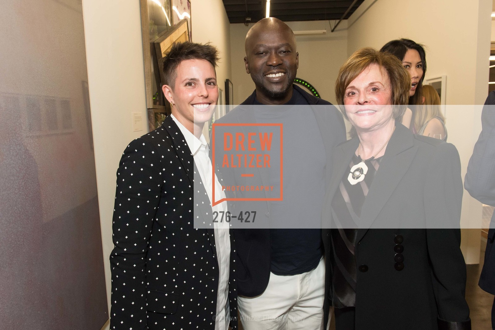 Jessica Silverman, David Adjaye, Mary Zlot, Artsy and Sotheby's Dinner at Fused, Fused, October 29th, 2015,Drew Altizer, Drew Altizer Photography, full-service agency, private events, San Francisco photographer, photographer california