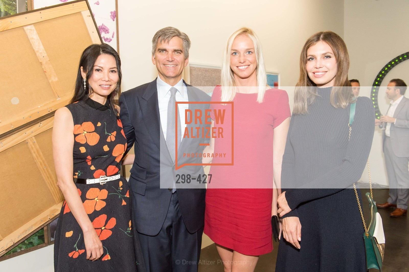 Wendi Murdoch, Tad Smith, Lucy Paige, Dasha Zhukova, Artsy and Sotheby's Dinner at Fused, Fused, October 29th, 2015,Drew Altizer, Drew Altizer Photography, full-service agency, private events, San Francisco photographer, photographer california