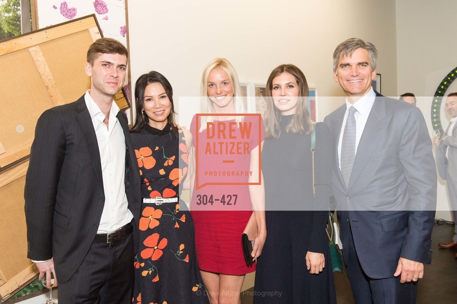 Carter Cleveland, Wendi Murdoch, Lucy Paige, Dasha Zhukova, Tad Smith, Artsy and Sotheby's Dinner at Fused, Fused, October 29th, 2015,Drew Altizer, Drew Altizer Photography, full-service agency, private events, San Francisco photographer, photographer california