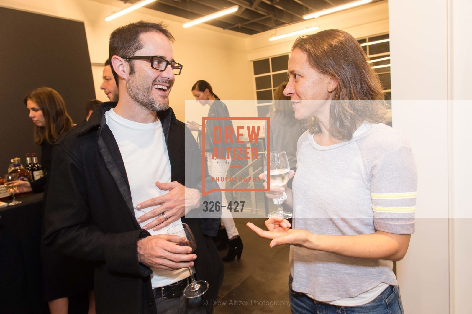 Evan Williams, Anne Wojcicki, Artsy and Sotheby's Dinner at Fused, Fused, October 29th, 2015,Drew Altizer, Drew Altizer Photography, full-service event agency, private events, San Francisco photographer, photographer California