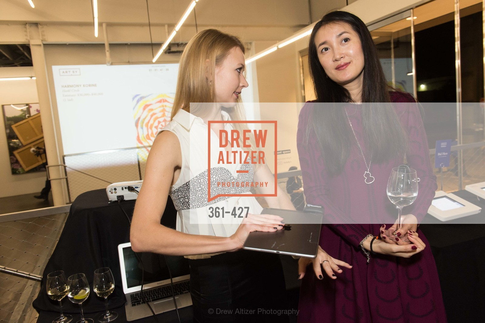 Elena Soboleva, Susan Liu, Artsy and Sotheby's Dinner at Fused, Fused, October 29th, 2015,Drew Altizer, Drew Altizer Photography, full-service agency, private events, San Francisco photographer, photographer california